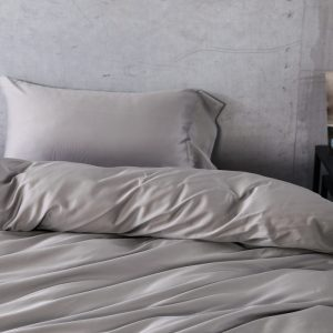 egyptian cotton bedding set Gray Grey Gris color font b duvet b font font b