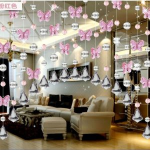 cm Arch bead font b curtain b font The butterfly bead font b curtain b