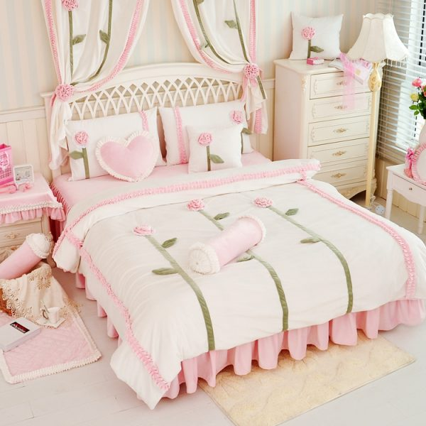 winter Sunflower Coral velvet Keep warm Comforter font b bedding b font font b sets