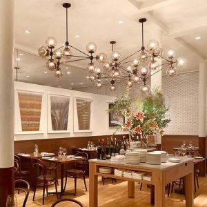 head dining room decoration LED modo font b Chandelier b font living