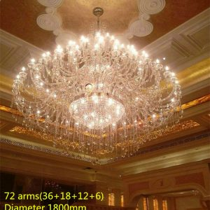 lights modern led candle holders crystal lamps large Crystal font b chandelier b font