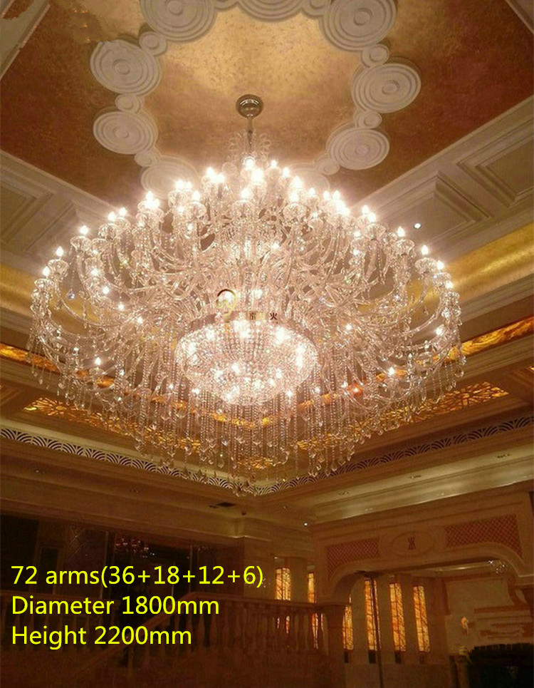 55 72 lights modern led candle holders crystal lamps large crystal lights modern led candle holders crystal lamps large crystal font b chandelier b font aloadofball Image collections