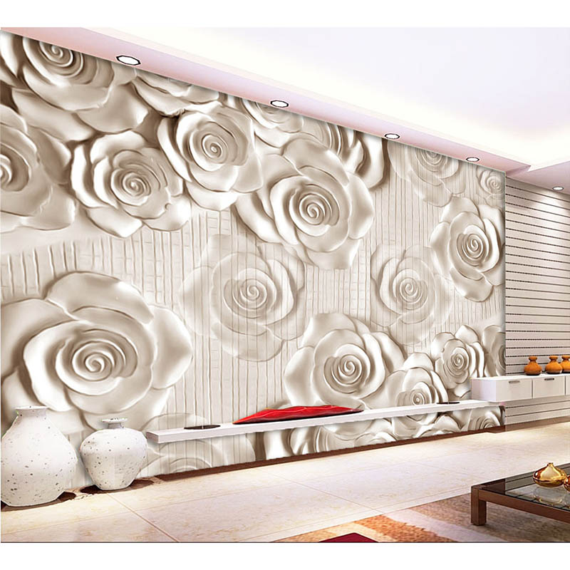 Any Size 3d Wall Mural Wallpaper New Modern Fashion Rose