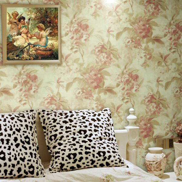 Best selling products hand painted font b wallpaper b font Oil painting mr price home decor