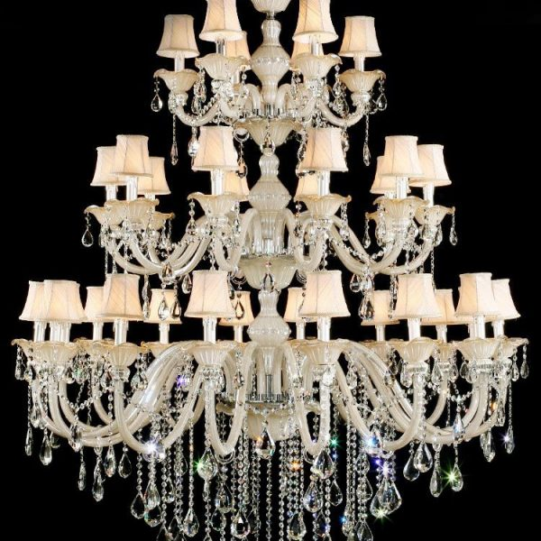 CRK NEW Luxury  Arms Maria Theresa font b Chandelier b font Big Light with Top