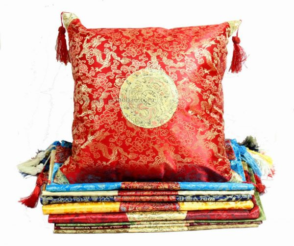 Chinese Jacquard Dragon Ethnic Pillow font b Cushion b font font b Cover b font Vintage