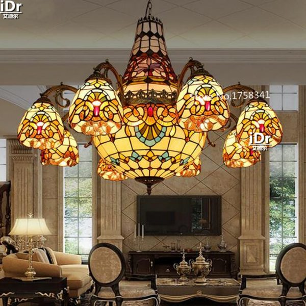 Contemporary works long living room upscale hotel lamp glass lamp restaurant Villa font b Chandeliers b