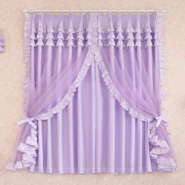 Custom Luxury Modern Princess Chinese Sheer font b Curtains b font For Living Room Child Tulle