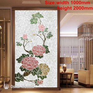 Customized handmade mosaic art mother of pearl mosaic tile art murals for interior house decoration flower