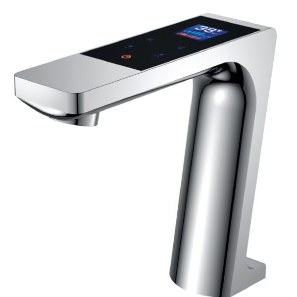Digital font b basin b font font b faucet b font LED display thermostatic touch font