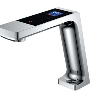 Digital font b basin b font font b faucet b font with LED display thermostatic touch