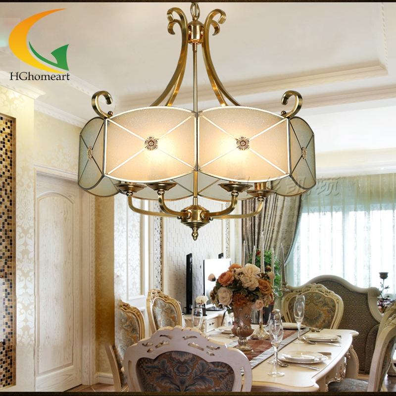 European american living room chandelier dining bedroom light european american living room chandelier dining bedroom light chandelier copper lighting fixtures hall aisle lights mozeypictures Images