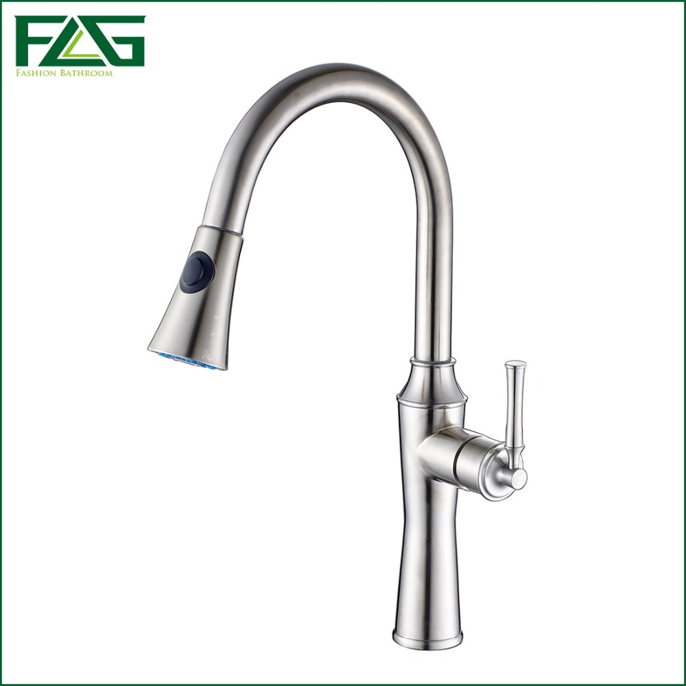 Flg Bath Mat 360 Swivel Spout Deck Mounted 304 Stainless Steel Basin Faucet Cold Hot Basin