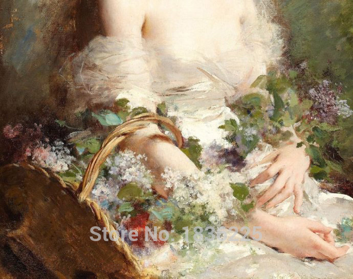 Flowers font b wallpapers b font oil painting on canvas wedding flowers canvas flower oil painting