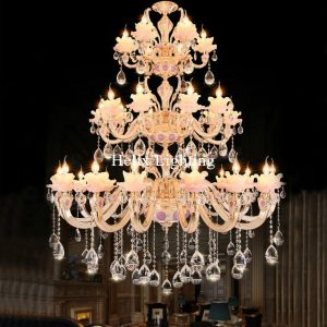 Free Shipping L Dcm Crystal font b Chandelier b font Lamp Living Room Lamp Hotel Lamp