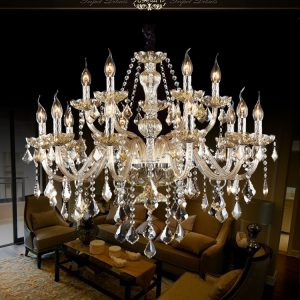 Free Shipping Crystal Modern Light font b Chandelier b font crystal Living Room lustres de cristal