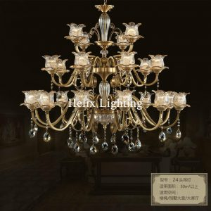 Free Shipping Dcm Brass font b Chandelier b font L Brozne LED Lustres Home font b