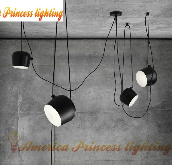 Free shipping Bongos Cafe Bar Restaurant font b chandelier b font modern showcase lighting color black