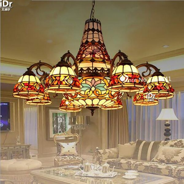 High end European style living room lamp headlights wine for restaurants engineering headlight font b Chandeliers