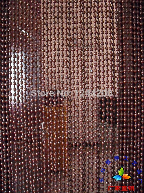 Hot sale Custom High grade Hanging Bead door font b curtain b font wooden bead door