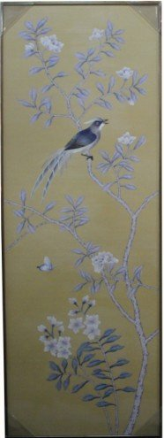 House decoration hand painted silk painting CHY  CHY