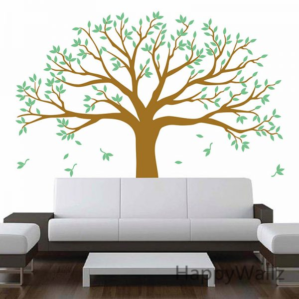 Large Family Tree font b Wall b font font b Stickers b font Family Photo Tree