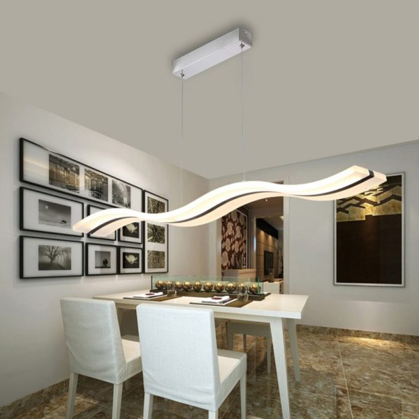 Led Lamp font b Chandelier b font Modern Acrylic Kitchen Lamparas De Techo Home Lighting For