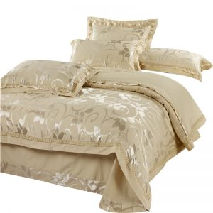Luxury Silk bedding set pcs bedclothes bedlinen queen king size Quilt font b duvet b font