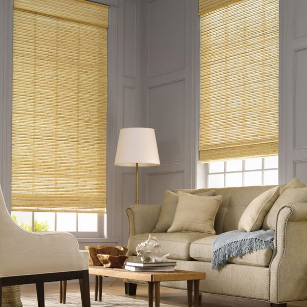Modern Natural Jute Blinds font b Curtains b font Luxury Woven Wood Shade Panels WindowTreatments Bamboo