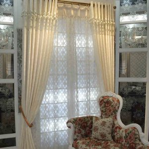 Modern solid splice silver font b curtain b font for living room luxury checks white tulle