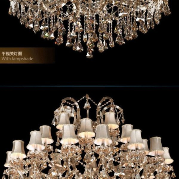 NEW Great  Arms Maria Theresa Crystal font b Chandelier b font Light with Top Quality