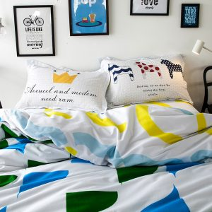 New Arrival Eco friendly Printing cotton Bedding Sets Bed Set font b Duvet b font font