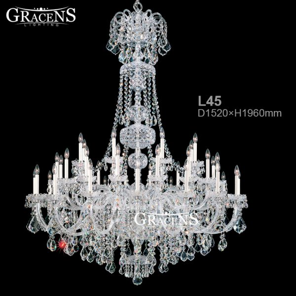 New Luxury Crystal font b Chandeliers b font Modern Hall Lights Large Crystal Light Fixtures Guaranteed