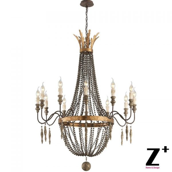 Replica item America style Delacroix Candle font b Chandelier b font Light  Lights French Bronze