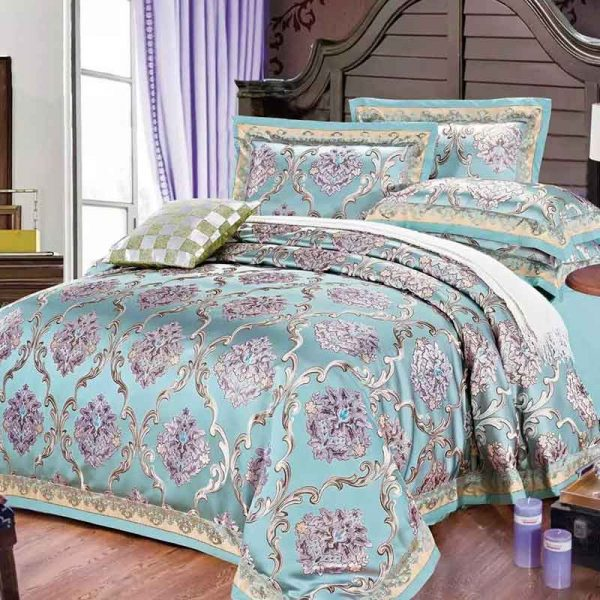 SILK PLACE Amilia Mila New High Quality Bedding Sets Luxury Bedding Set Jacquard Comforterble Bedding Sets
