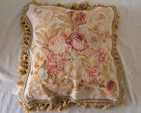aubusson font b cushion b font font b cover b font wool and silk sofa chair