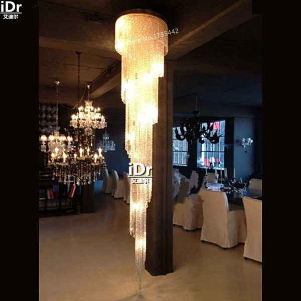 gold font b Chandeliers b font modern luxury hotel bedroom lamp lamp corridor lamp crystal lamp